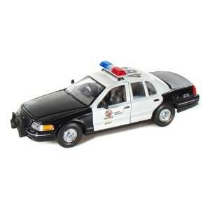 Crown Victoria Los Angeles Police Department Car 1/27 Toys & Games