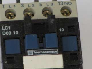 Telemecanique LC1 D09 10 Contactor LC1D0910 480V Coil