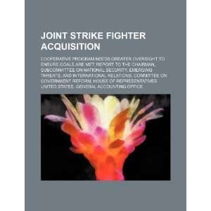 Joint strike fighter acquisition cooperative program