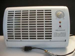 White LAKEWOOD Model 205 Portable Electric Dial Heater