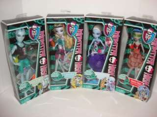 HIGH Skull Shores Set Gillington Gil Webber Abbey Lagoona Ghoulia NEW