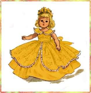 Vintage doll Wardrobe Pattern 8 Ginny, Muffy, Alexander & Kin