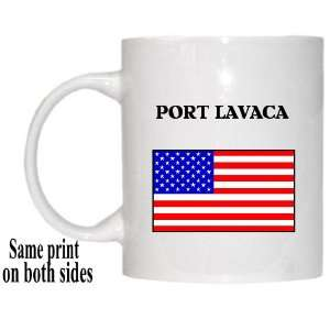 US Flag   Port Lavaca, Texas (TX) Mug