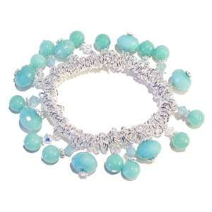 The Black Cat Jewellery Store Sweetie Style Bracelet w/ Jade