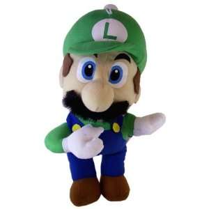 Toy   Nintendo Super Mario Bros Luigi Plush Doll (12 In) Toys & Games