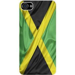 Rikki KnightTM Jamaica Flag White Hard Case Cover for