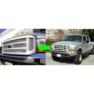 Grillcraft MX Series Upper Grille Kit Ford F250& F350 Super Duty 99 04