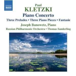 / Three Piano Piec Kletzki, Banowetz, Russian Po, Sanderling Music