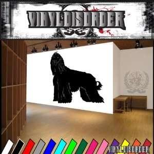 Dogs hound afghan hound 4 Vinyl Decal Wall Art Sticker