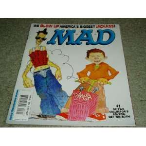 Mad Magazine Issue # 407 July 2001 Cover 1 of 2 E.C