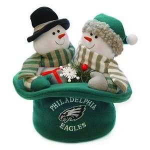 Philadelphia Eagles Snowmen Top Hat