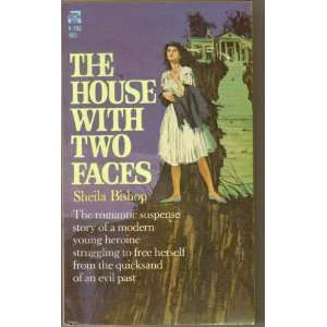 With Two Faces (Gothic Romance): Sheila Bishop:  Books
