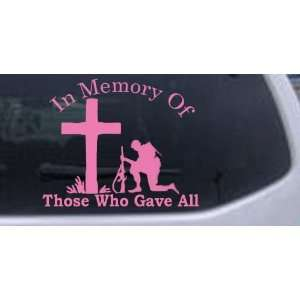 Who Gave All Military Car Window Wall Laptop Decal Sticker Automotive