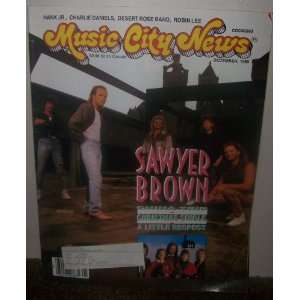 Music City News Magazine December 1988 Lydia Dixon Harden