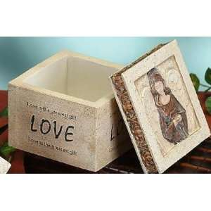 Angel Jewelry Box Collectible Love Decoration Figurine