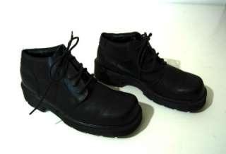 DR. MARTENS Doc Martins Mens Black Leather Ankle Boot 7M