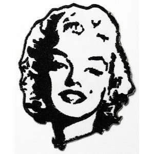 SALE 2.8 x 3.7 Marilyn Monroe Clothing Jacket Shirt Embroidered Iron