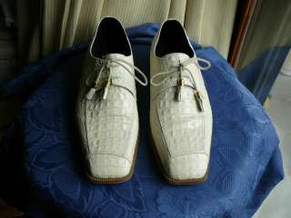 BRUTINI PRIVATE COLLECTION DRESS SHOES SIZE 11 M   IVORIES