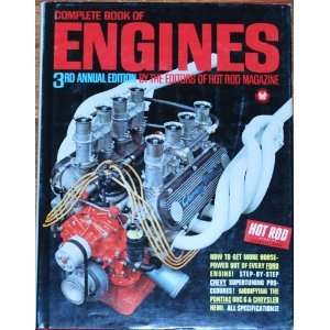 Complete book of Engines Hot Rod Magazine Books