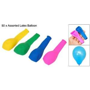 Rosallini 50 PCS Assorted Latex Balloon Wedding Party