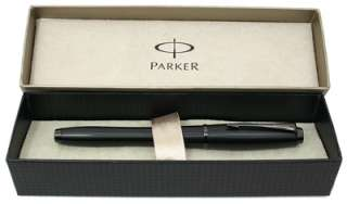 Parker Urban Fountain Pen, Stealth Matte Black, Medium Nib