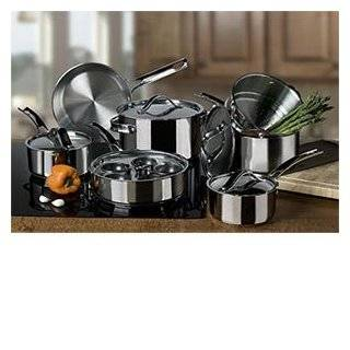Gordon Ramsay by Royal Doulton Stainless Steel 10 Piece Cookware Set