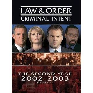 Law & Order Criminal Intent   The Second Year