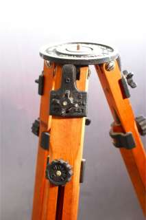 Ries Model Tri Lock Wood tripod+Light Adapter View Camera/Motion