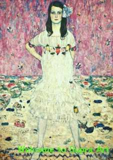 Mada Primavesi 1912 Gustav Klimt repro oil painting