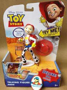Disney Toy Story Jessie Cowgirl Deluxe Talking Figure Operation Escape