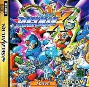 SS  Mega Man ROCKMAN X 3  SEGA SATURN Japan Import JP