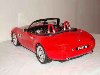 12 Scale BMW Z8 Red Radio Control Full Function RC Remote Car 27 MHZ