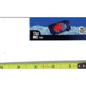 Magnum, Small Rectangle Size RC Cola CAN Soda Vending Machine Flavor