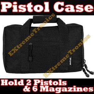 Discreet Padded Pistol Gun Carrying Bag Storage Case 13 x 9