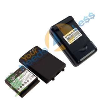 3500mAH extended battery Samsung Galaxy S Captivate i897 + Back Cover