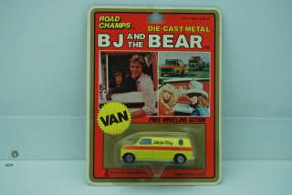 Bj and the Bear Road Champs Die Cast Yellow Van 6702 NIB