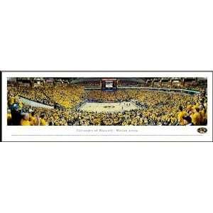 Missouri Tigers   Mizzou Arena   Framed Poster Print