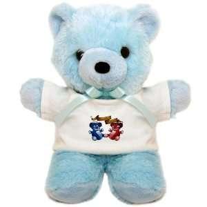 Teddy Bear Blue Double Trouble Bears Angel and Devil