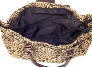 New Stylish Sexy Leopard Print Tote Bag Handbag #B37