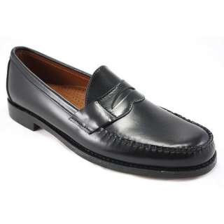 Sebago Cayman II Penny Black Leather Loafers for Men B