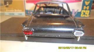 AMT 1/25 62 FORD FAIRLANE BODY (CUSTOM REAR) (PAINTED BLACK) (USED
