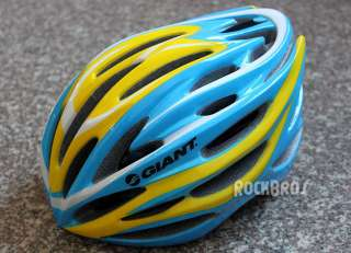 GIANT Road Bike MTB Cycling Pro Helmet Size L 55cm 61cm Blue