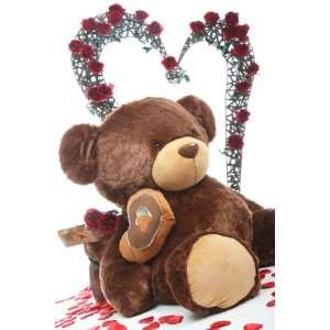 Huge Cuddly and Soft 47 Valentine Day Sutffed Plush Teddy Bear