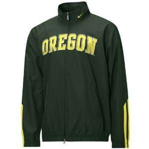 Nike Oregon Ducks Green Senior Wind Jacket: Sports