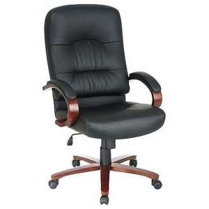 Office Star WorkSmart Eco Leather High Back Chair w