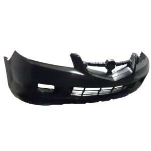 TY1 Acura MDX Primed Black Replacement Front Bumper Cover Automotive