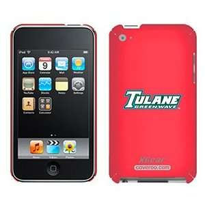 Tulane Green Wave on iPod Touch 4G XGear Shell Case