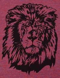 Vintage LION HEAD American Apparel TR301 Track T Shirt