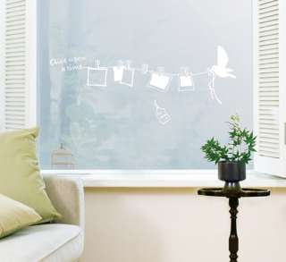 Vinyl Wall/Window Deco Sticker Decal PHOTO FRAME SG 07