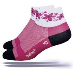 DeFeet Womens AirEator Pink Passion Cycling/Running Socks